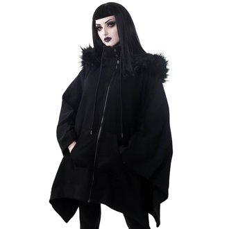 mikina dámská (pončo) KILLSTAR - Crypt Keeper Faux - BLACK - KSRA000521