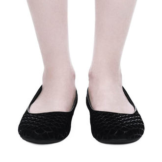 boty dámské (baleríny) KILLSTAR - Cursula - BLACK 0b0be8e637