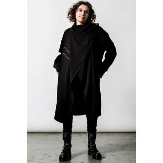 mikina unisex (cardigan) KILLSTAR - Cypher Long - Black, KILLSTAR
