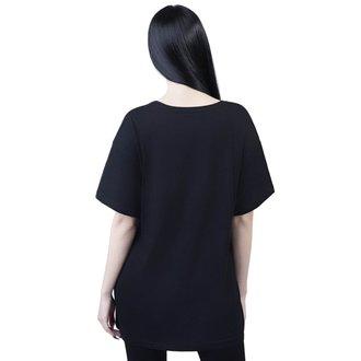 tričko dámské KILLSTAR - C'mon Meow - BLACK, KILLSTAR