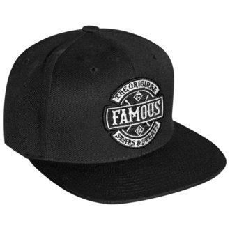 kšiltovka FAMOUS STARS & STRAPS - CHAOS - BLACK, FAMOUS STARS & STRAPS