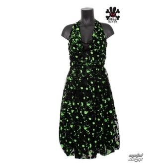 šaty dámské HELL BUNNY - LOWE DRESS - 4012 - GRN