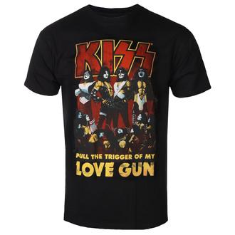 tričko pánské Kiss - Love Gun - ROCK OFF, ROCK OFF, Kiss