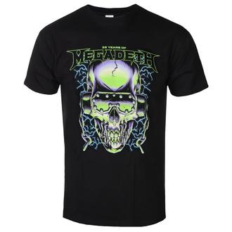 tričko pánské MEGADETH - 35 YEARS H/PHONES SKULL - PLASTIC HEAD, PLASTIC HEAD, Megadeth