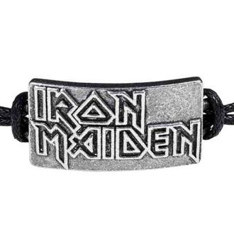 náramek ALCHEMY GOTHIC - Iron Maiden - Logo, ALCHEMY GOTHIC, Iron Maiden