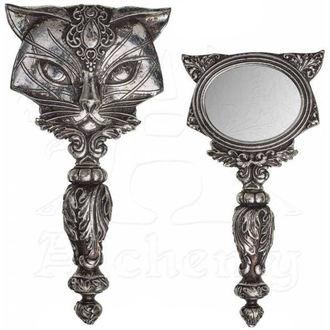 zrcátko (dekorace) ALCHEMY GOTHIC - Cat, ALCHEMY GOTHIC