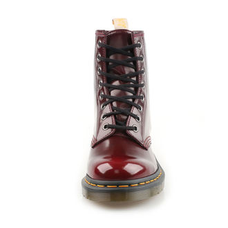 boty 8 dírkové Dr. Martens - Cambridge Brush - Vegan 1460 - Cherry Red, Dr. Martens