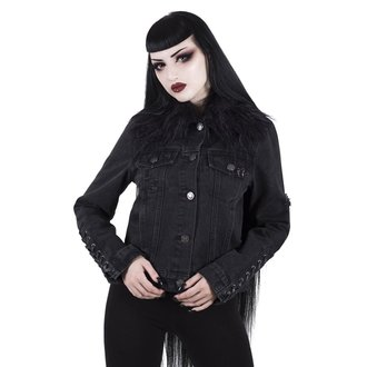 bunda dámská KILLSTAR - Dark Daze - Denim - BLACK, KILLSTAR