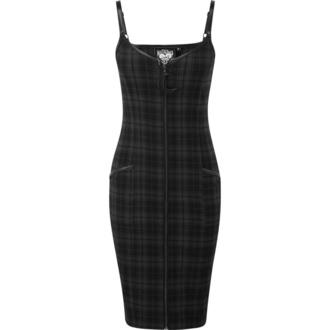šaty dámské KILLSTAR - Darklands - TARTAN - KSRA001152