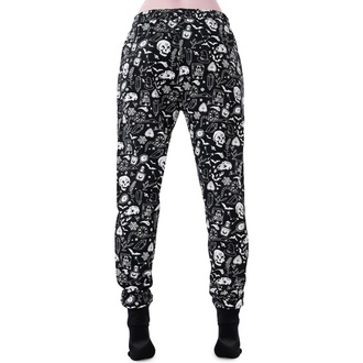 kalhoty dámské (pyžamo) KILLSTAR - Dark Slumbers - BLACK, KILLSTAR