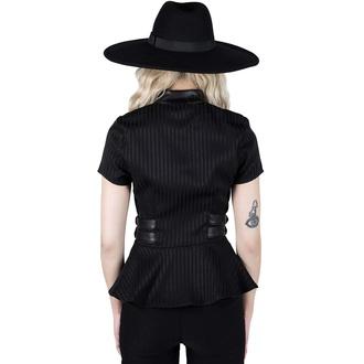 tričko dámské (top) KILLSTAR - Dark Enterprise - Pinstripe, KILLSTAR