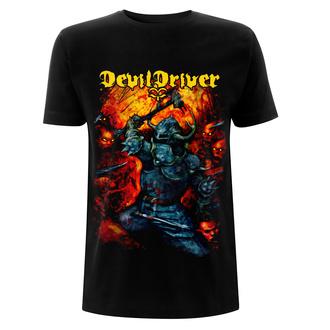 tričko pánské Devildriver - Warrior - Black, NNM, Devildriver