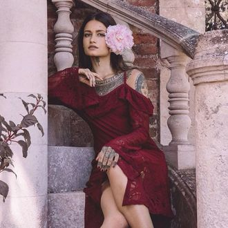 šaty dámské KILLSTAR - Deadly beloved - WINE - KSRA000269