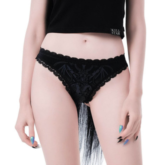 kalhotky dámské KILLSTAR - Deadly Night - BLACK, KILLSTAR