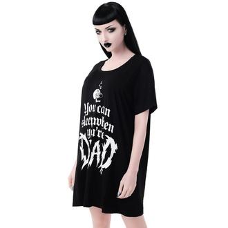 tričko dámské (pyžamo) KILLSTAR - Dead Sleepy - BLACK, KILLSTAR