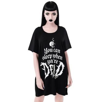 tričko dámské (pyžamo) KILLSTAR - Dead Sleepy - BLACK - KSRA001907