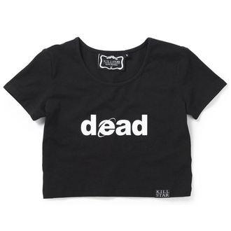 tričko dámské (top) KILLSTAR - Dead Crop - Black, KILLSTAR