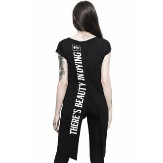 tričko dámské (tunika) KILLSTAR - Dead Rose - Black, KILLSTAR