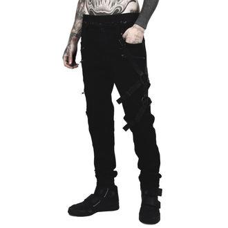kalhoty pánské KILLSTAR - DEATH WISH - BLACK, KILLSTAR
