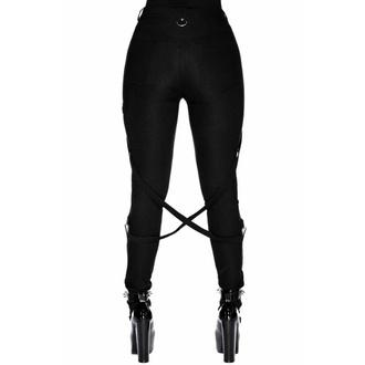 kalhoty dámské KILLSTAR - Def Leopard - BLACK, KILLSTAR