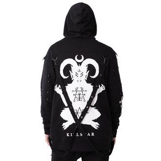 mikina (unisex) KILLSTAR - DEMONDAY - BLACK, KILLSTAR
