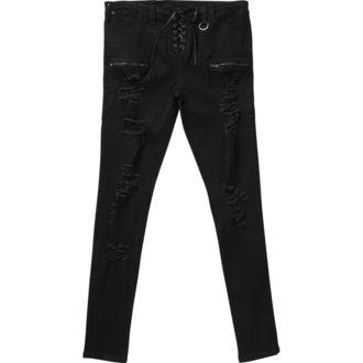 kalhoty (unisex) KILLSTAR - Diablo Jeans - BLACK