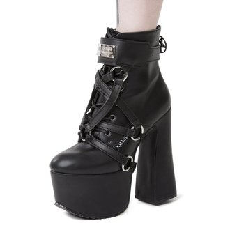 postroj na botu KILLSTAR - DIABLO SHOE HARNESS - BLACK, KILLSTAR