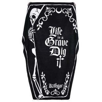 ručník (osuška) KILLSTAR - Dig It Coffin - BLACK, KILLSTAR