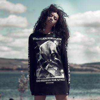 tričko pánské s dlouhým rukávem KILLSTAR - Don't belong - BLACK