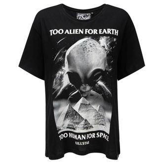 tričko dámské KILLSTAR - Don't Belong Relaxed - BLACK