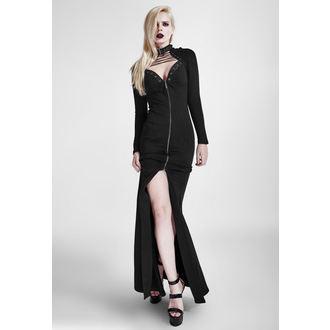 šaty dámské PUNK RAVE - Black Muse - Q-301