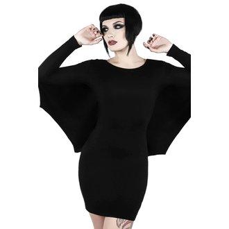 šaty dámské KILLSTAR - DRACUL MINI - BLACK, KILLSTAR