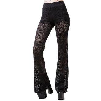 kalhoty dámské KILLSTAR - DREAM ON BELL - BLACK, KILLSTAR