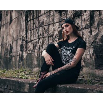 tričko dámské Machine Head - Bloodstone - Black, NNM, Machine Head