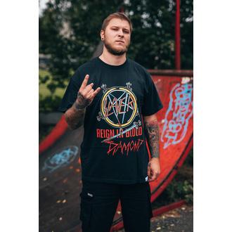 tričko pánské SLAYER - DIAMOND - Reign In Blood - Black, DIAMOND, Slayer