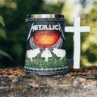 hrnek (korbel) Metallica - Master of Puppets, NNM, Metallica