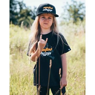 tričko dětské Metalshop - Black - 61-033-036 3-4