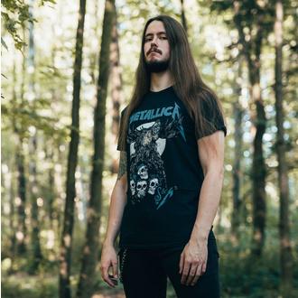 tričko pánské Metallica - S&M2 Skulls - Black, NNM, Metallica