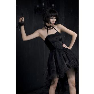 šaty dámské PUNK RAVE - Black Nymph, PUNK RAVE