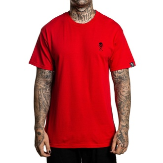 tričko pánské SULLEN - STANDARD ISSUE - RED/BLACK - SCM0019_RDBK