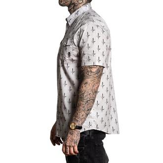košile pánská SULLEN - DEAL BREAKER - LT.GREY/BLACK, SULLEN