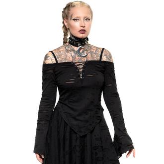 tričko dámské (top) s dlouhým rukávem KILLSTAR - Dust Devil - Black, KILLSTAR