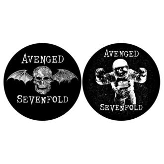 podložka na gramofon (set 2ks) AVENGED SEVENFOLD - DEATH BAT / ASTRONAUT - RAZAMATAZ, RAZAMATAZ, Avenged Sevenfold