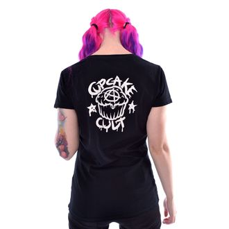 tričko dámské Cupcake cult - DREAM BUNNY - BLACK, CUPCAKE CULT