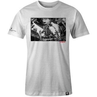 tričko pánské FAMOUS STARS & STRAPS - DRUMS DRUMS DRUMS - WHITE, FAMOUS STARS & STRAPS