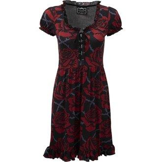 šaty dámské KILLSTAR - EDEN DOLL - BLACK