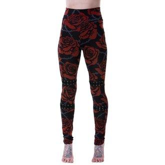 kalhoty dámské (legíny) KILLSTAR - EDEN - BLACK, KILLSTAR