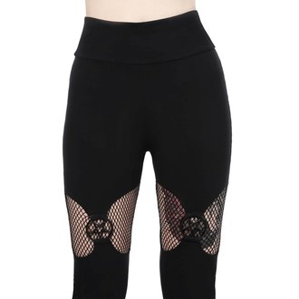 kalhoty dámské (leginy) KILLSTAR - ELECTRA - BLACK, KILLSTAR
