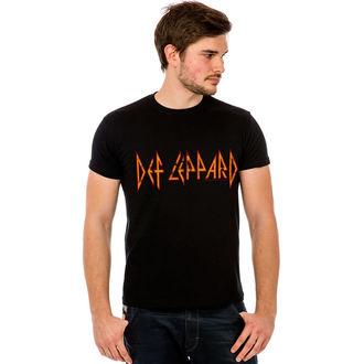 tričko pánské Def Leppard - Classic Logo - HYBRIS, HYBRIS, Def Leppard