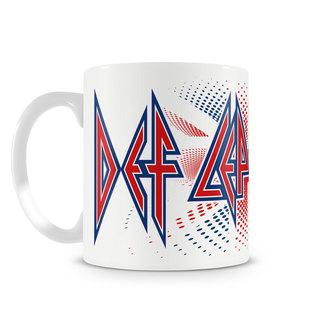 hrnek Def Leppard - UK Flag - HYBRIS, HYBRIS, Def Leppard